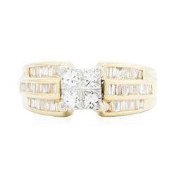 14KT Yellow Gold Ladies 1.50 ctw Diamond Wedding Ring