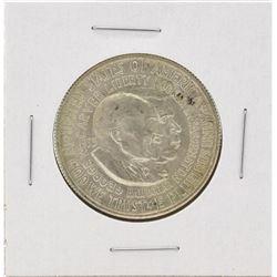 1953-D Washington-Carver Centennial Commemorative Half Dollar Coin