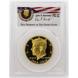 2014-W Kennedy 50th Anniversary First Strike Half Dollar Gold Coin PCGS PR69DCAM
