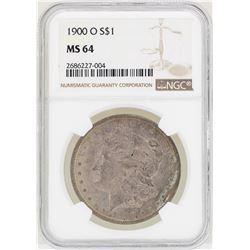 1900-O $1 Morgan Silver Dollar Coin NGC MS64