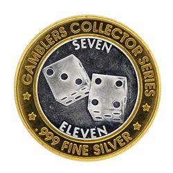 .999 Silver Sam's Town Kansas City, MO $10 Casino Limited Edition Gaming Token