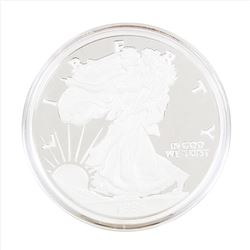 1996 Walking Liberty Half Troy Pound Silver Coin