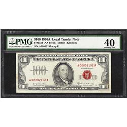 1966A $100 Legal Tender Note Fr.1551 PMG Extremely Fine 40