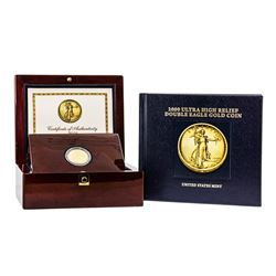 2009 $20 Ultra High Relief Double Eagle Gold Coin w/Box & COA