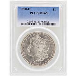 1900-O $1 Morgan Silver Dollar Coin PCGS MS65