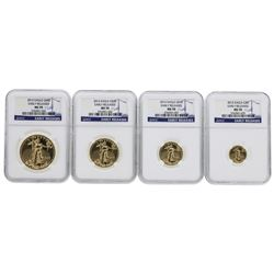 2013 American Gold Eagle Set NGC MS70 Early Releases