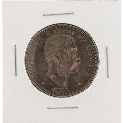1883 Kingdom of Hawaii Half Dollar