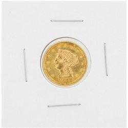 1897 $2 1/2 Liberty Head Quarter Eagle Gold Coin