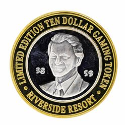.999 Silver Riverside Resort Hotel & Casino $10 Casino Limited Edition Gaming To