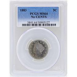 1883 Liberty Head Nickel Coin PCGS MS64