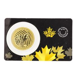 2014 $200 Canada Howling Wolf Gold Coin