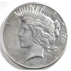 1927 PEACE DOLLAR BU