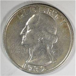 1932-D WASHINGTON QUARTER  XF/AU