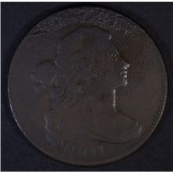 1801 DRAPED BUST LARGE CENT  VG/FINE