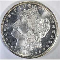1885-CC MORGAN DOLLAR GEM BU+