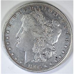 1895-O MORGAN DOLLAR  XF