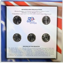 50-STATE QUARTER & EURO COIN SET,  U.S. MINT