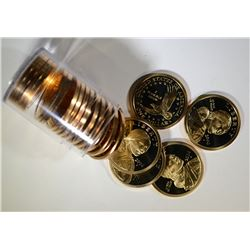 2006-S ROLL OF 20 PROOF SACAGAWEA DOLLARS