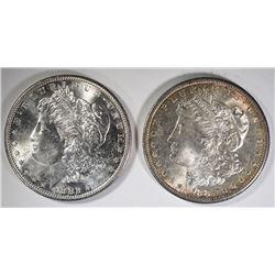 MORGANS CHOICE BU; 1881-S & 1882-S