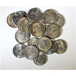 $10 SILVER 90% KENNEDY HALF DOLLARS
