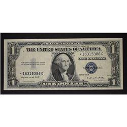 1935 G $1 SILVER CERTIFICATE GEM CU