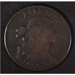 1803 DRAPED BUST LARGE CENT  VG/FINE