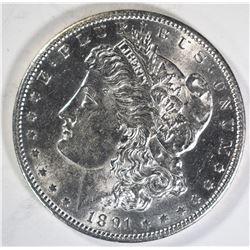 1891-S MORGAN DOLLAR  CH BU+