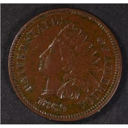1869 INDIAN HEAD CENT  XF