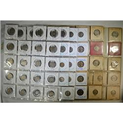 "NICKEL COLLECTION: 27- ""V"" NICKELS,"