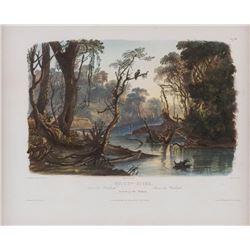 Karl Bodmer, three prints