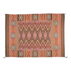 "Navajo Rug, 6'9"" x 5'"
