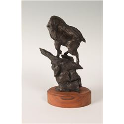 Ralph Tuffy Berg, bronze, Veryl Goodnight, bronze