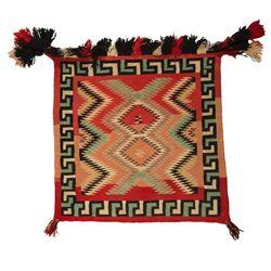"""Navajo Saddle Blanket, 2'3"""" x 2'6"""""""