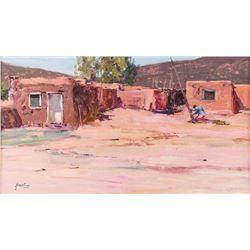 Walt Gonske, oil on canvas