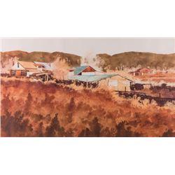 Walt Gonske, watercolor