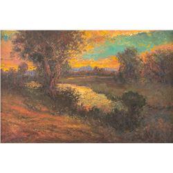 Parke Goodman, oil on canvas