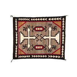 "Navajo Rug, 5'8"" x 4'7"""