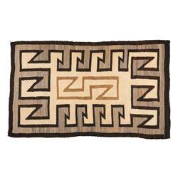 "Navajo Rug, 2'1"" x 5'2"