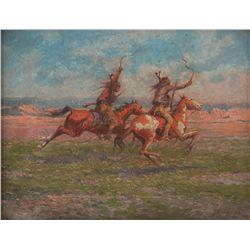 William Meuttman, oil on canvas