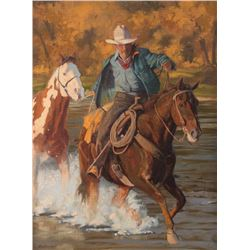 Karen Bonnie, oil on canvas