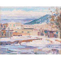 Doug Higgins, oil on canvas