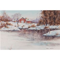 Robert MacGinnis, watercolor