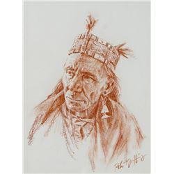 Robert Griffing, conte crayon
