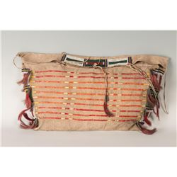 "Northern Plains Beaded Possible Bag, 23"" x 12"""