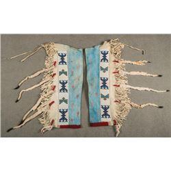 Blackfeet Beaded Man's Leggings