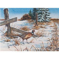 Bob Kercher, watercolor