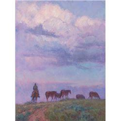 Joyce Lee, oil on canvas
