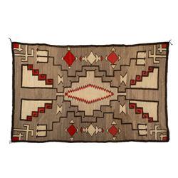 "Navajo Rug, 7'1"" x 4'8"""