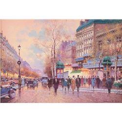 Vasiliy Gribennikov, oil on canvas