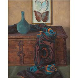 Carol Guzman, two oils